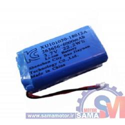 باتری لیتیوم پلیمر 3.7 ولت 6000mA