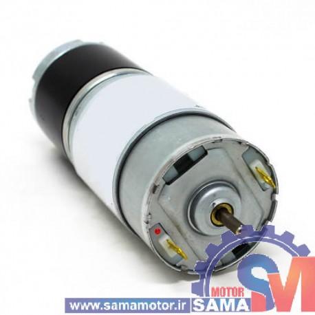 موتور گیربکس 24 ولت 50 دور خورشیدی GXA36R-24-50RPM