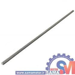 پیچ لید اسکرو T8 قطر 8 میلیمتر گام 2 میلیمتر طول 30 سانتیمتر