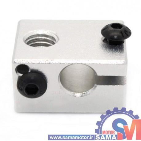 محفظه آلومینیومی هیتر پرینتر سه بعدی E3D V6