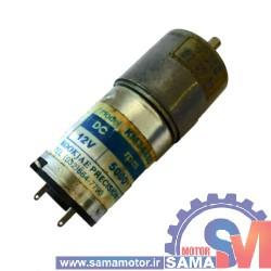 موتور DC گیربکس دار 12 ولت 15 دور KM3448D