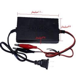 شارژر اتوماتیک باتری لید اسید 12 ولت 20 آمپر ساعت
