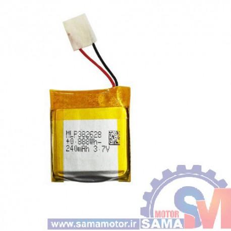 باتری لیتیوم پلیمر3.7 ولت 240 میلی آمپر ساعت