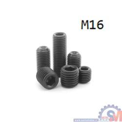 پیچ آلن مغزی نوک پهن سایز M14