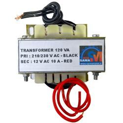 ترانسفورماتور 12 ولت 10 آمپر (120VA واقعی)