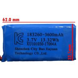 باطری لیتیومی 3600MA آبی