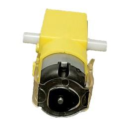 موتور گیربکس پلاستیکی زرد دوسر شفت